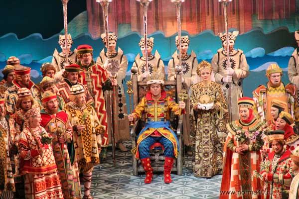 опера, Римский-Корсаков, царь Салтан