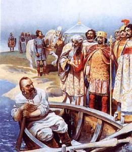 Встреча Святослава Игоревича с Иоанном Цимисхием