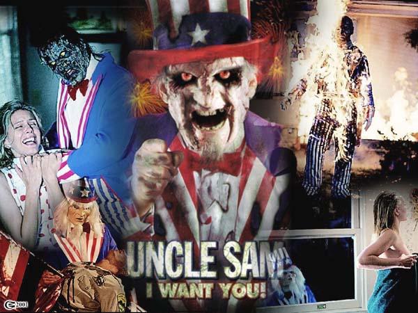 Рекламный плакат фильма «Дядя Сэм»
