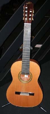 русская семиструнная гитара самой распространённой разновидности