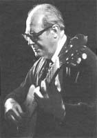 испанский гитарист-виртуоз Андрес Сеговия