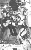 гитара на борту космической станции «Салют-6»