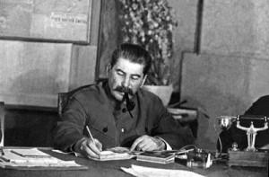 советский государственный и партийный деятель Иосиф Виссарионович Сталин