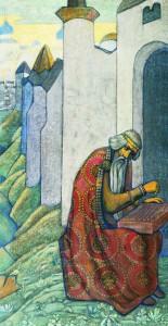 картина художника Николая Рериха «Баян»