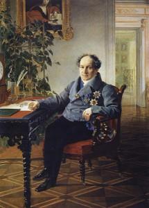 портрет князя Александра Николаевича Голицына, художник Брюллов