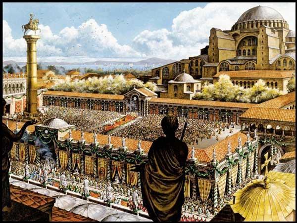 Византийская империя. Константинополь