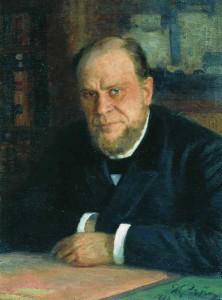 портрет А. Ф. Кони работы И. Е. Репина